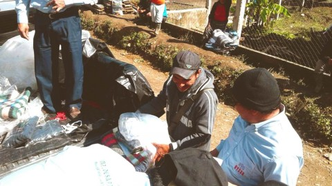 Pobladores de Ixcansán reciben muestras de solidaridad y apoyo tras daños por lluvias